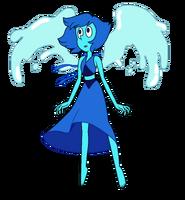 Lapis Lazuli (Steven Universe) fly