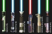 Lightsabers and Users