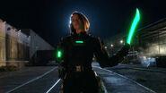 Alex Danvers Kryptonite Suit