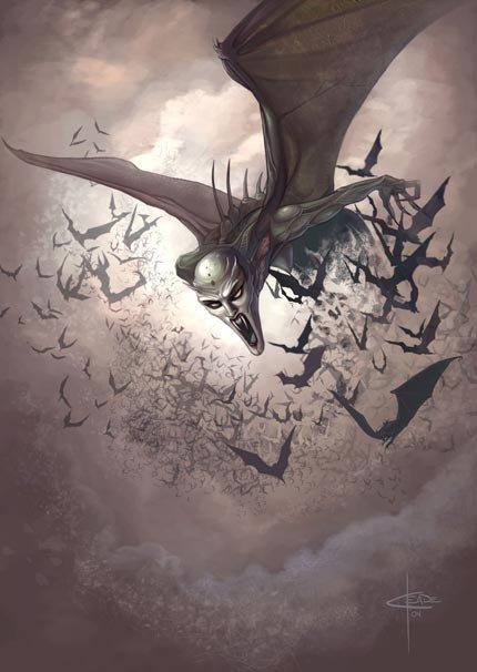Bat Swarming
