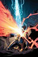 Lucas Bishop (Marvel Comics) blast