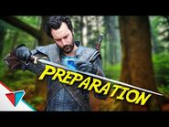 Preparing for battle in The Witcher - Preparation