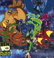 Ben 10 Alien Force Aliens