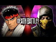 Ryu VS Scorpion (Street Fighter VS Mortal Kombat) - DEATH BATTLE!