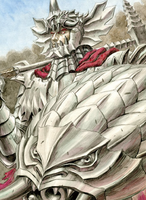 Grunbeld, The Great Flame Dragon Berserk
