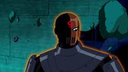 Slade (Teen Titans) immunity to time