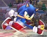 Running sonic the hedgehog