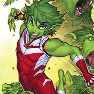 DC Comics Garfield Logan Beast Boy Green Hair