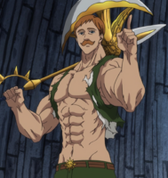 Escanor daytime (Seven Deadly Sins)