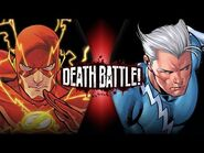 Flash VS Quicksilver (Marvel VS DC) - DEATH BATTLE!