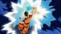 Gohan vs SSB Goku