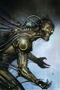 Magus (Technarch) (Earth-616) Young X-Men Vol 1 9 Villain Variant Textless