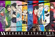 Mekakucity-Actors-wallpaper
