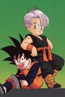 Trunks and Goten Dragon Ball Z