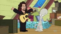 Lorenzo Teaches Roger Guitar