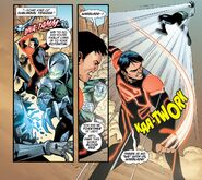 Megaton Punch by Superboy