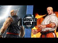 One Minute Melee S3 EP2 - HeiHachi vs Geese (Tekken vs King of Fighters)