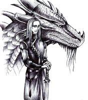 Oromis and Glaedr