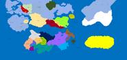 Mapa tercio sur