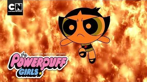 Fire and Water Powerpuff Girls Cartoon Network