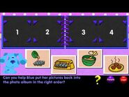 Blue's Clues - Picture Ordering (1998 PC Game)