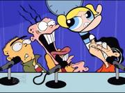 Bubbles attacks Eddy