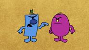 Mr. Grumpy and Mr. Stubborn arguing