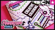 Powerpuff Girls Creative Colouring Cartoon Network Ad Feature