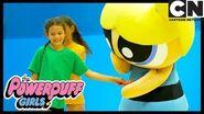 Powerpuff Girls Bubbles' Gymnastic Superhero Challenge! Cartoon Network