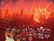 Tokyo Townsville Destroyed