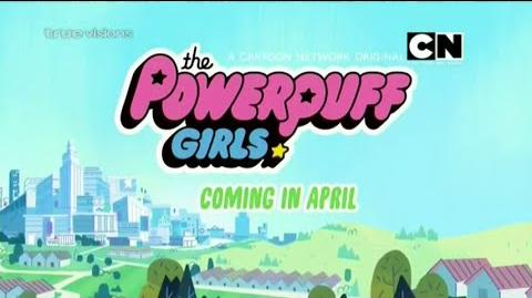 """Cartoon Network Asia The Powerpuff Girls 2016 Speedlines (New Show) """"Coming in April"""" Promo"""