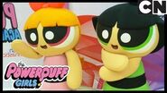 Powerpuff Girls Gymnastic Superhero Challenge! Cartoon Network