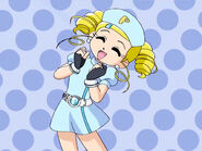 Powerpuff Girls Z Bubbles as a nurse