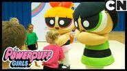 Powerpuff Girls Buttercup's Gymnastic Superhero Challenge! Cartoon Network