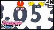 Dangerous Math Monster! Powerpuff Girls Cartoon Network