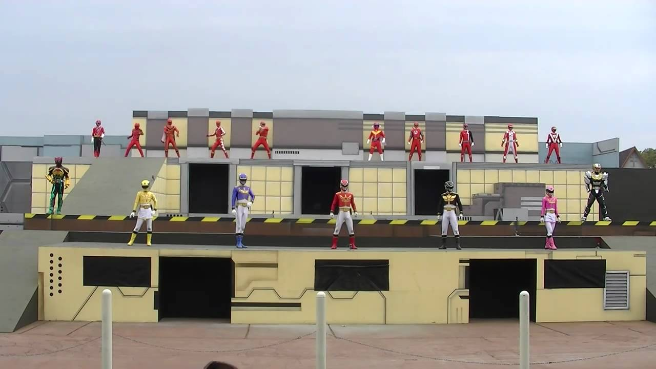 Goseiger Stage Show at Super Hero New Hero Legend