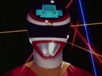 Red Space Ranger Morph