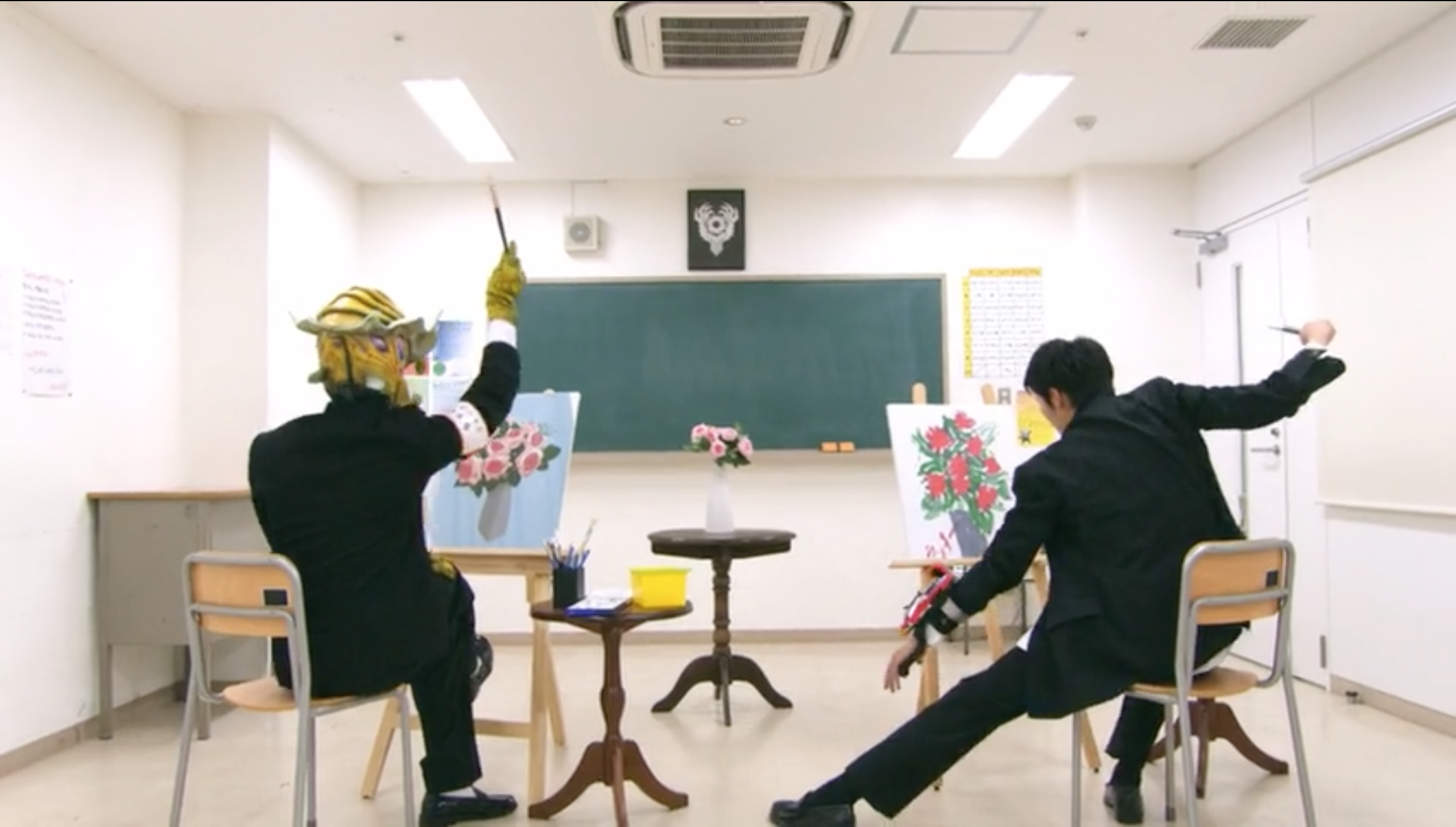 2nd Period: Art Class