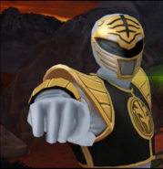 Legacy Wars Mighty Morphin White Ranger Victory Pose