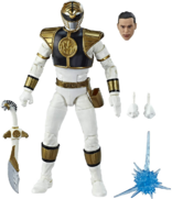 Mighty Morphin White Ranger Lightning Collection