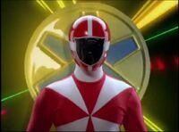 Red Lightspeed Ranger Morph 2