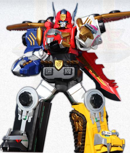 Comparison:Tensou Gattai Gosei Great vs. Gosei Great Megazord
