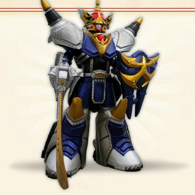 Comparison:Beast-Fist God SaiDain vs. Rhino Steel Zord