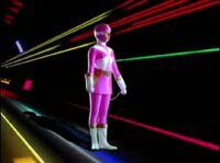 Pink Lightspeed Ranger Morph 1
