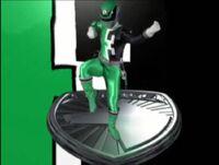 Green SPD Ranger Morph 2