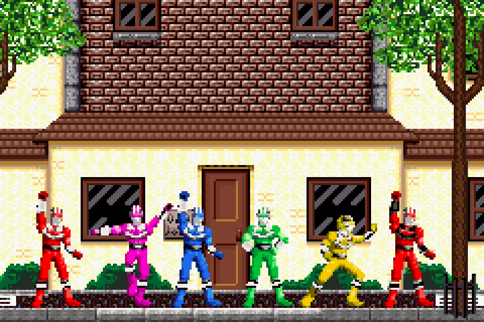Power Rangers Time Force (GBA)