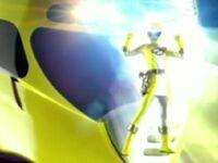 Yellow Overdrive Ranger Morph 2