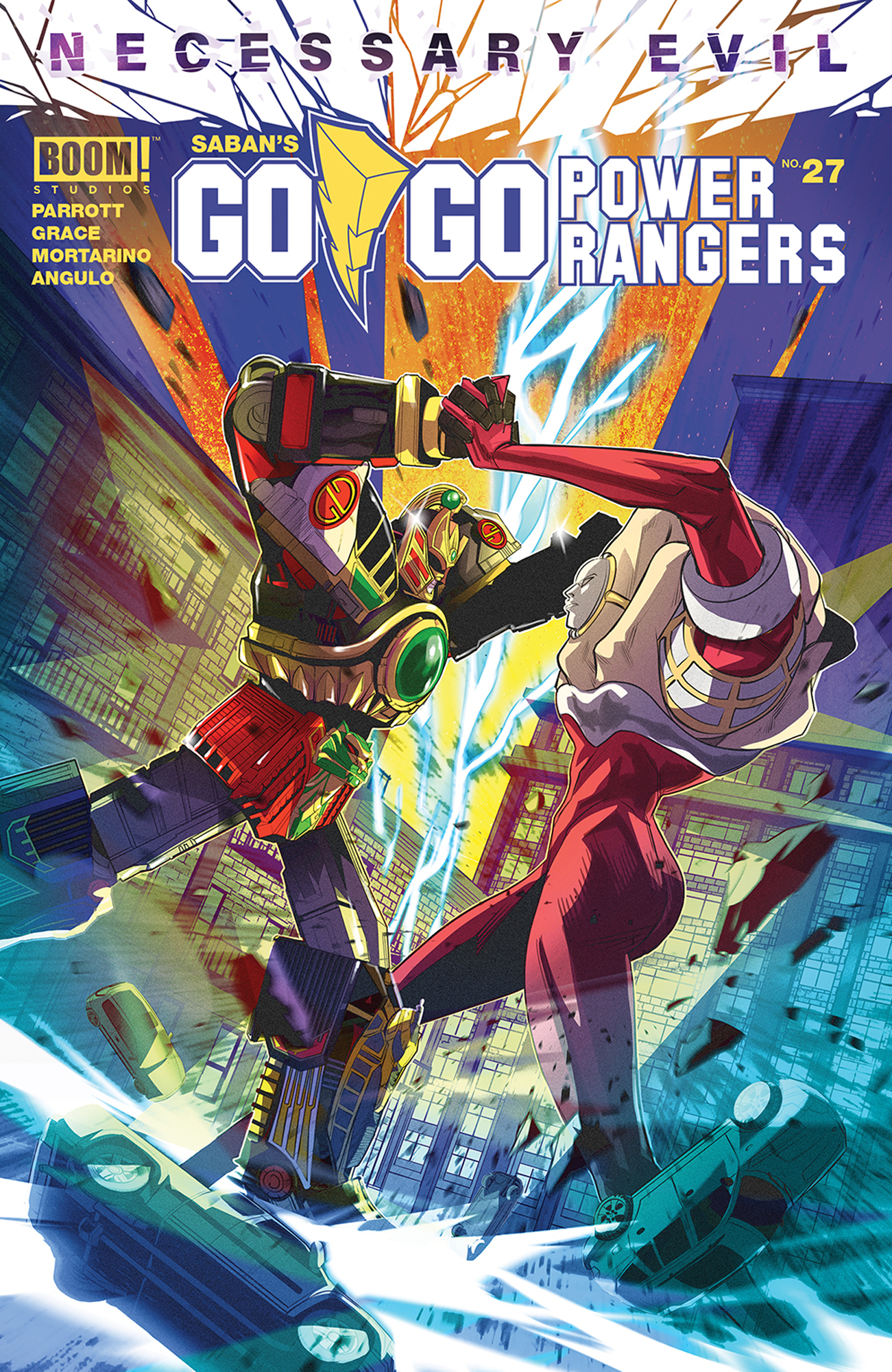 Go Go Power Rangers Issue 27