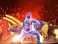 Blue Dino Ranger Morph 2