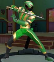 Legacy Wars Green Ninja Storm Ranger (Solar)
